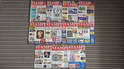 Stamp And Coin Mart Magazine January 2013 To November 2013