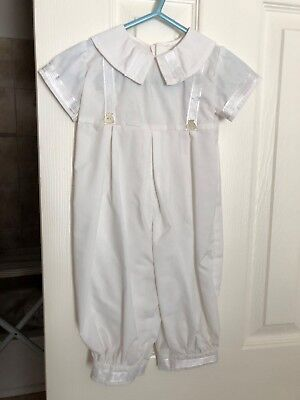 Christening Suit for baby boy 3-6 months
