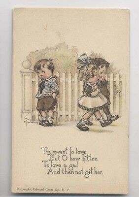 Signée Charles TWELVETREES - N° 4 - Enfants - Children - Tis Sweet to Love