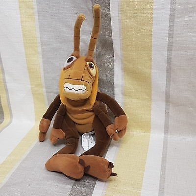 """Hopper Grasshopper From A Bugs Life 14"""" Plush Soft Toy By  Disney"""