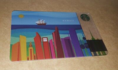Colorful kuwait Starbucks CARD