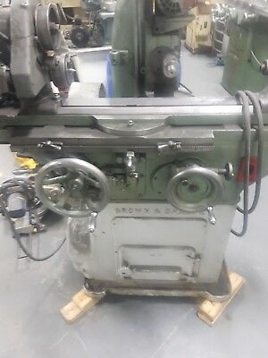 Brown and Sharpe cylindrical grinder