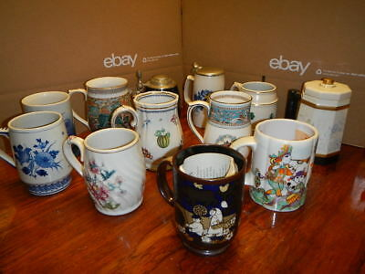 Kirin BEER MUG Collection. 12 Steins Porcelain Limited Editions - FREE SHIPPING!