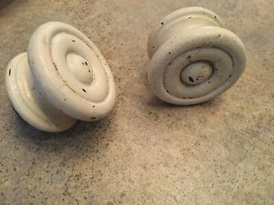 Vintage Wooden Drawer Pull Knobs Finial Shaker Style