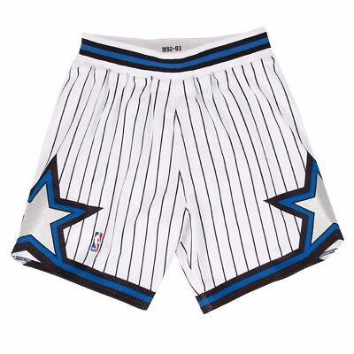 the best attitude a90bd 76f3f Orlando Magic NBA Mitchell   Ness White 1992-93 Authentic Throwback Home  Shorts