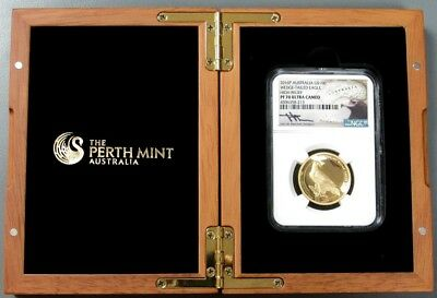 2016 P GOLD AUSTRALIA WEDGE-TAILED 1oz NGC PROOF 70 ULTRA CAMEO OGP 1000 MINTED