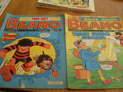 The Beano Comic Issue's No 2444 / 2445 1989