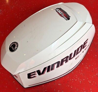 Brp 130 Hp Evinrude Johnson  E - Tec Engine Shroud Cover Hood  358683  (2008)