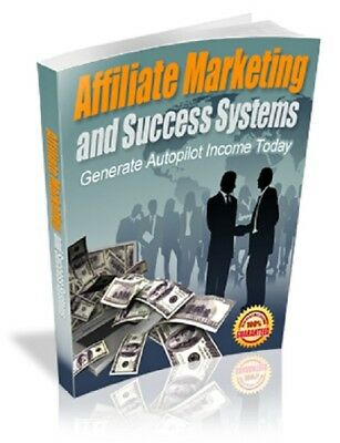 Affiliate Marketing and Success PDF eBook + Master Resell Rights + 5 FREE eBooks