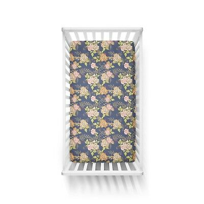 Claire Floral COT FITTED SHEET