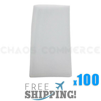 "100 Pack - 90 Micron Rosin Press Filter Bags Rosin Screen Bag Filter - 3"" x 5"" L"