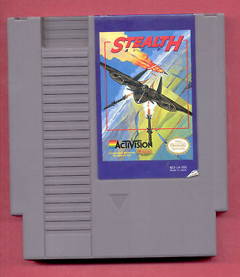 STEALTH ATF (Nintendo Entertainment System, 1989) NES - FREE USA SHIPPING