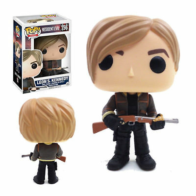 Games Resident Evil - Leon S.Kennedy #156 Vinyl Funko Pop! Action Figure Toy