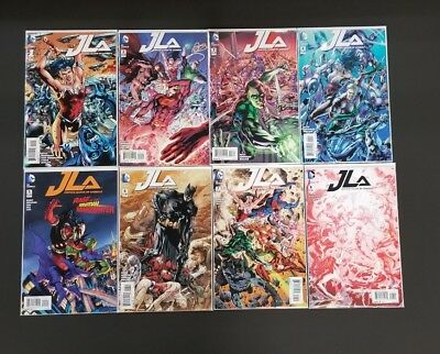 Justice League of America JLA #1-8 Run VF NM- 1st Print DC Comics