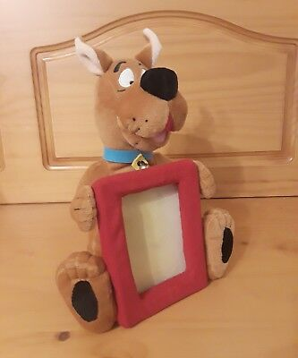 Vintage Retired Warner Bros Studio Store Scooby Doo with Plush Picture Frame