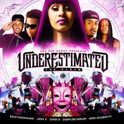 Cardi B - Underestimated - The Tour Album Mix CD
