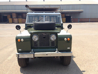 1966 Land Rover Series 2A LWB Safari Top 1966 Series 2A Land Rover 109 (RHD)