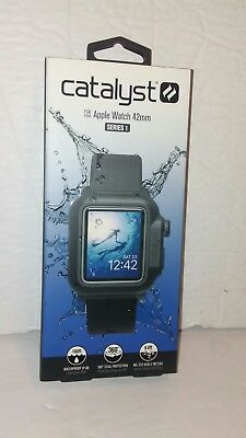 Catalyst Case for Apple Watch 42mm Series 1 - Black OPEN BOX