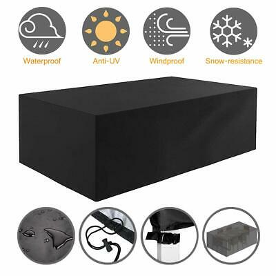 Waterproof Garden Furniture Table Cover Outdoor Patio Rain Snow UV Chair Shelter