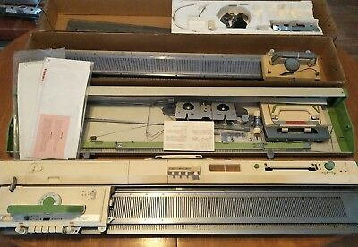 empisal kh820 punchcard knitting machine + lace carriage + ribber