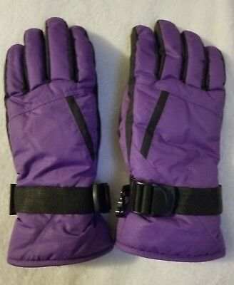 Cold Weather Gloves 3M Thinsulate Insulation 40 Gram Ski Men Fleece Winter Warm