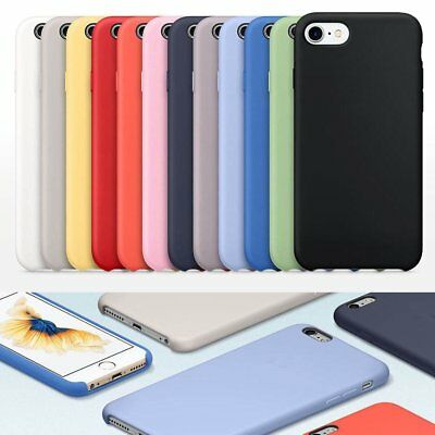 Genuine Original Ultra Thin Silicone Case Cover for Apple iPhone 7 7 Plus Lot iv