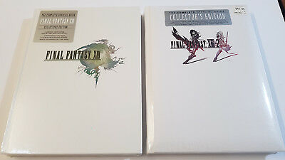 Final Fantasy XIII and XIII-2 Collector's Strategy Guide (xiii) (13) (x111)