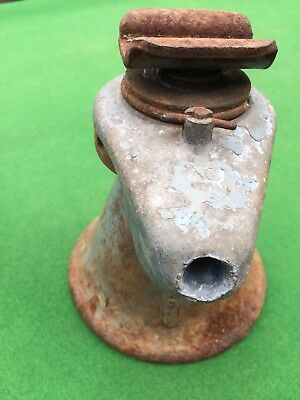 Vintage Shelley Lj225 Screw Car Jack For Restoration