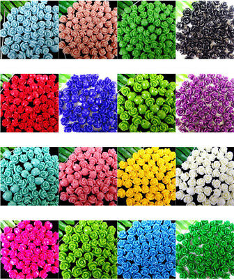 10Pcs Delicate Colorful Tridacna Flower Carved Pendant Bead 10*8mm AE4612