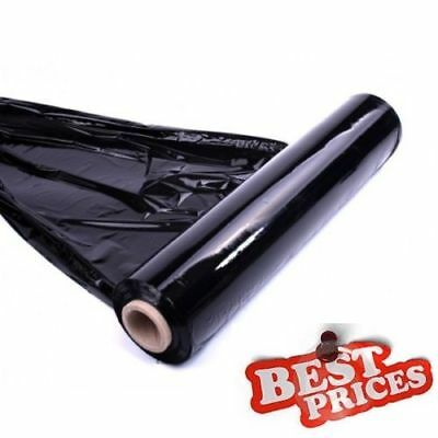 SALE 1x QUALITY BLACK PALLET STRETCH WRAP 400mm 250m strong NORMAL CORE