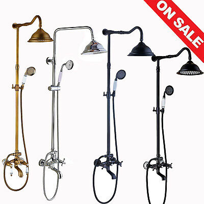 28'' Commercial Pre-Rinse Kitchen Sink Faucet Pull Down Brass Sprayer Mixer Taps