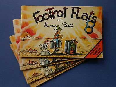 ## FOOTROT FLATS EIGHT / 8 by MURRAY BALL - VINTAGE AUSTRALIAN COMIC