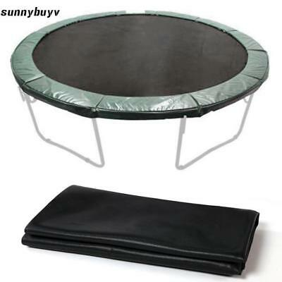 """12.1/' Weatherproof Jumping Mat for 14/' Trampoline Replacement 96Ring 8.5/"""" Spring"""