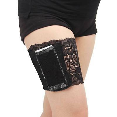 Non-Slip Women Lace Elastic Socks Anti-Chafing Thigh Bands Legs Prevent Chafing