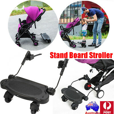 AU Universal Connector Toddler Board Kid Stand Ride-On for Board Stroller/Pram