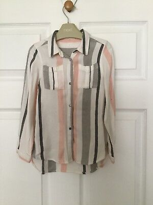 river island mini girls - super soft over-shirt age 3-4