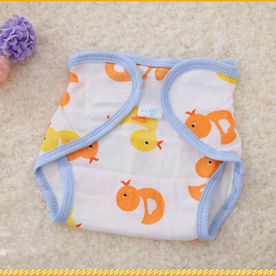 Baby Accessories Cute Cartoon Printed Cotton Diapers Wash Baby Diapers Useful
