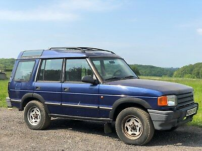 Left Hand Drive 1994 [M] Land Rover Discovery 2.5 Tdi Spares Or Repairs Lhd Uk
