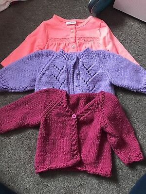 Baby Girl First Size Cardigans