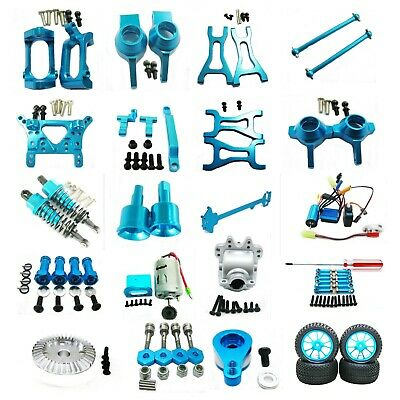 Aluminum Parts DIY For RC 1/18 WLtoys A959 A969 A979 K929 Off-road Rc Car blue