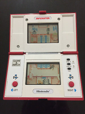 Nintendo Game And Watch SAFEBUSTER Retro Gaming Hand Held Game Collectable