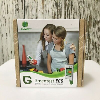 NEW ANMEZ Greentest Eco Portable Nitrate and Radiation Detector Home Food 5072