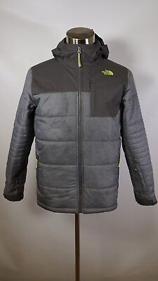 B13344 Boy's The North Face Full Zip Caleb Hooded Insulated Jacket Size XL