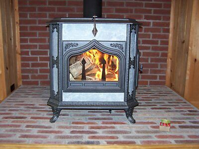 Woodstock Fireview Soapstone Wood Stove