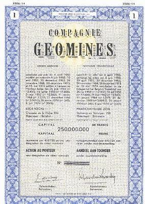 2 x Compagnie GEOMINES