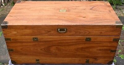 Wooden Chest/ Distressed/rustic/coffee Table/reproduction