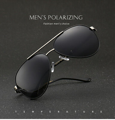 2018 Aviator Sunglasses Mens polarized Classic Driving glasses with Gift Box