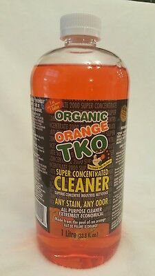 Organic Orange TKO Super Concentrated Cleaner/Deodorizer/Degreaser 34 oz