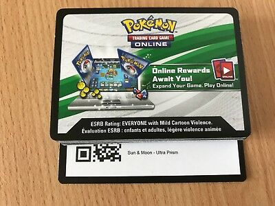 Pokemon Ultra Prism 36x booster code cards for online TCG