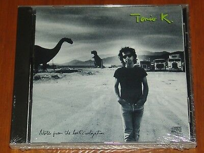 Tonio K - Notes From The Lost Civilization - Christian Rock - 1988 What? New Cd